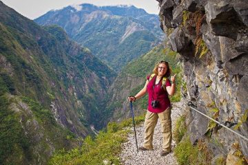 What to do in hualien. Zhuilu old trail tour on taroko gorge national park tour jhuilu old trail