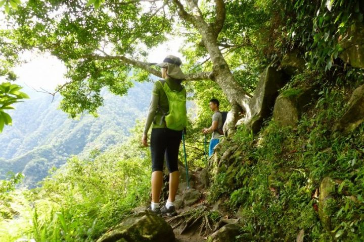 Zhuilu Old Trail Tour on the Jhuilu Old Trail in Taroko Gorge in Hualien